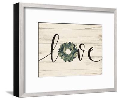 Love Wreath-Jo Moulton-Framed Art Print
