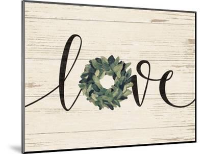 Love Wreath-Jo Moulton-Mounted Art Print