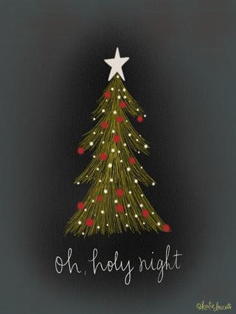 Oh Holy Night Tree-Katie Doucette-Framed Art Print