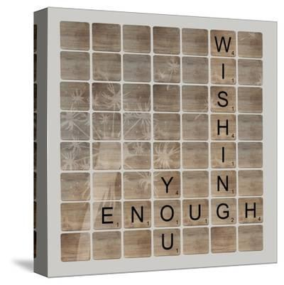 Wish Enough-Longfellow Designs-Stretched Canvas Print