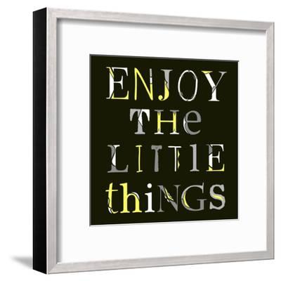 Little Things-Longfellow Designs-Framed Art Print