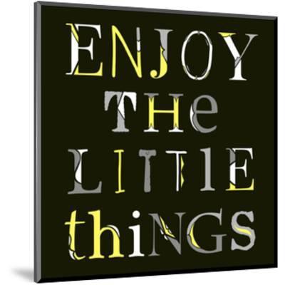 Little Things-Longfellow Designs-Mounted Art Print