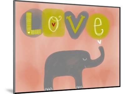 Elephant Love-Katie Doucette-Mounted Art Print