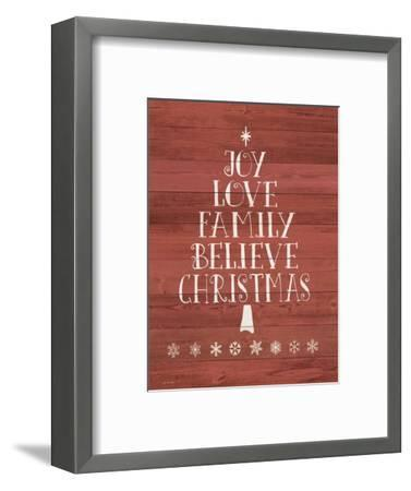 Believe Tree-Jo Moulton-Framed Art Print