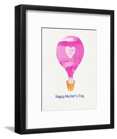 Mother's Day Balloon-Linda Woods-Framed Art Print