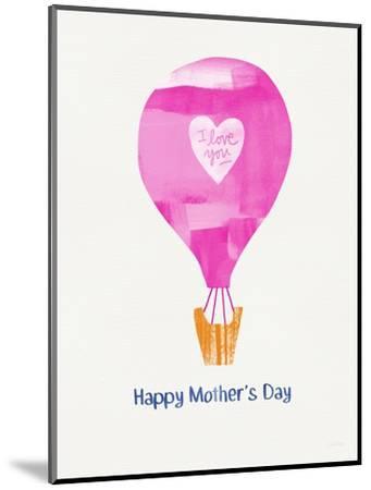 Mother's Day Balloon-Linda Woods-Mounted Art Print