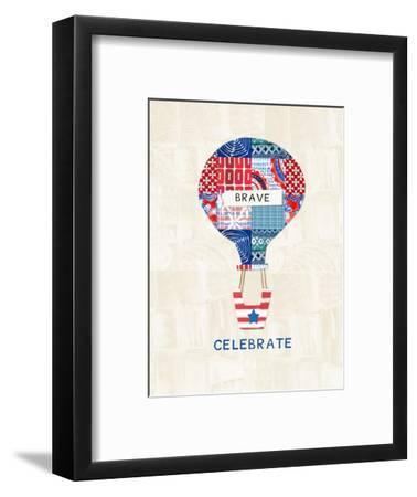 Celebrate Brave-Linda Woods-Framed Art Print