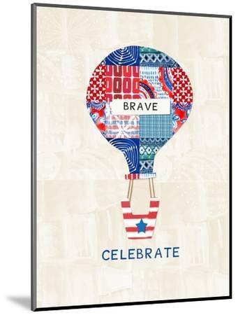 Celebrate Brave-Linda Woods-Mounted Art Print