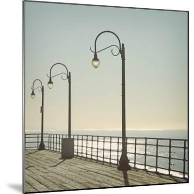 Santa Monica-Linda Woods-Mounted Photographic Print