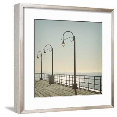 Santa Monica-Linda Woods-Framed Photographic Print