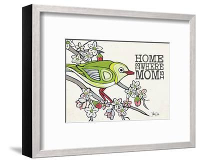Japanese White Eye Mother's Day-Shanni Welsh-Framed Art Print