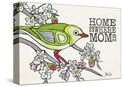 Japanese White Eye Mother's Day-Shanni Welsh-Stretched Canvas Print