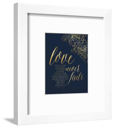 Love Never Fails-Tammy Apple-Framed Art Print