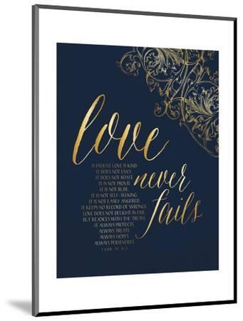 Love Never Fails-Tammy Apple-Mounted Art Print