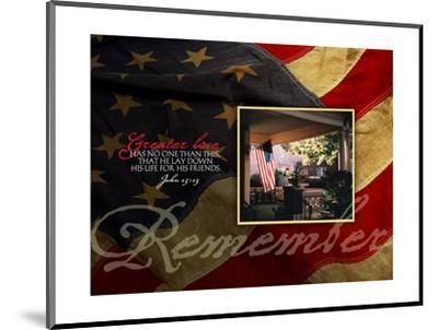 Remember-Tammy Apple-Mounted Art Print