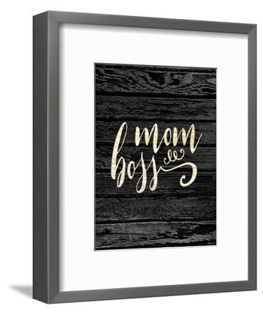 Mom Boss-Tara Moss-Framed Art Print
