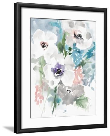 Bright Bouquet 1-Megan Swartz-Framed Art Print