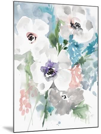 Bright Bouquet 1-Megan Swartz-Mounted Art Print