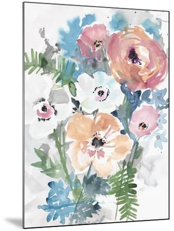 Bright Bouquet 3-Megan Swartz-Mounted Art Print