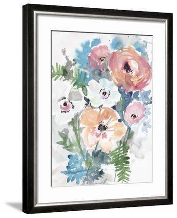 Bright Bouquet 3-Megan Swartz-Framed Art Print