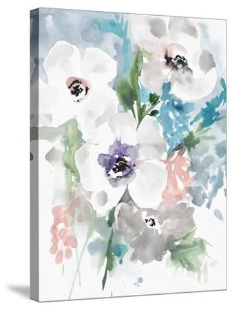 Bright Bouquet 1-Megan Swartz-Stretched Canvas Print