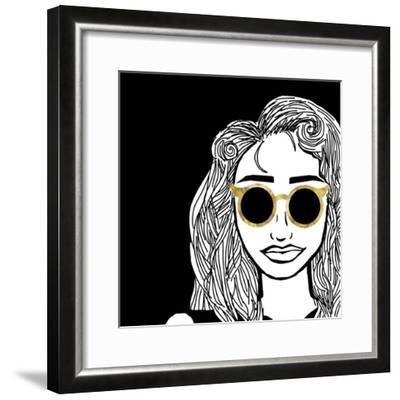 Cool Shades-S Studio-Framed Art Print