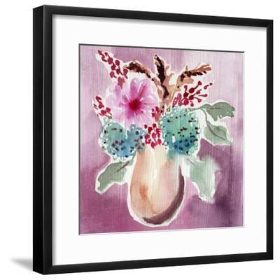 Natural Garden Bouquet-Esther Bley-Framed Art Print