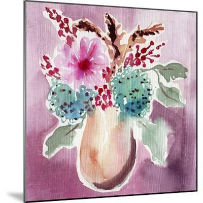 Natural Garden Bouquet-Esther Bley-Mounted Art Print