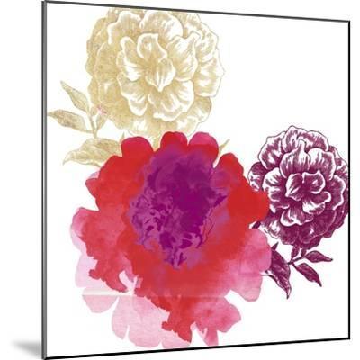 Happy Garden Reds-Bella Dos Santos-Mounted Art Print