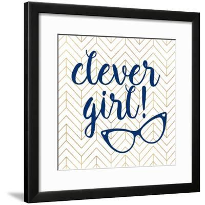 Clever girl!-Bella Dos Santos-Framed Art Print