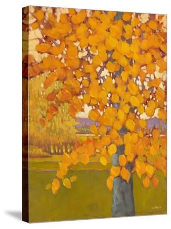 Autumn Gold-J Charles-Stretched Canvas Print