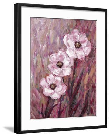Colourful Flowers-James Zheng-Framed Art Print
