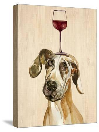 Be Careful Of The Glass of Wine-Jin Jing-Stretched Canvas Print