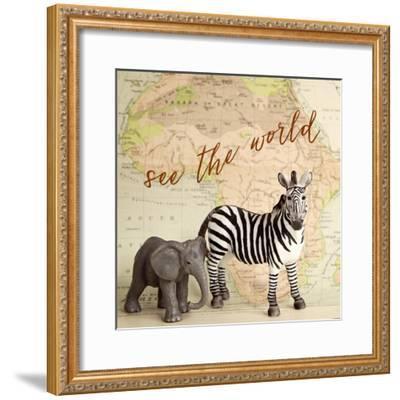 See The World-Susannah Tucker-Framed Art Print