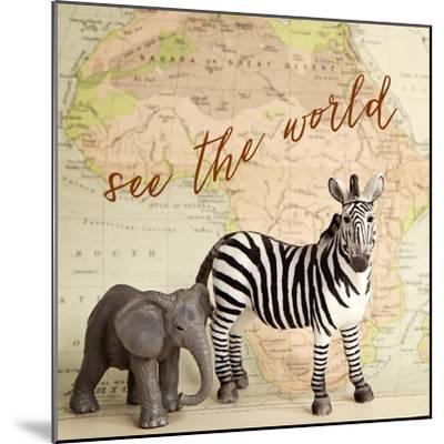 See The World-Susannah Tucker-Mounted Art Print