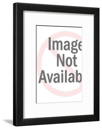 Line Pattern-Pop Ink - CSA Images-Framed Art Print
