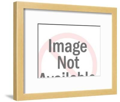 Close up of Couple Embracing-Pop Ink - CSA Images-Framed Art Print