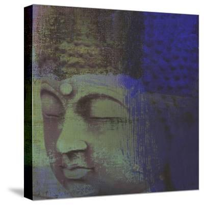 Zen Modern II-Ricki Mountain-Stretched Canvas Print