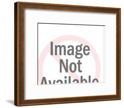 Man Mailing Letter-Pop Ink - CSA Images-Framed Art Print