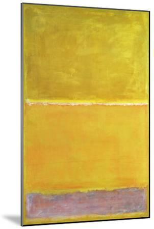 No. 16 [?] {Untitled}-Mark Rothko-Mounted Giclee Print