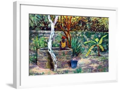 The Garden Well, 2017-Tilly Willis-Framed Giclee Print