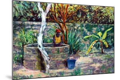 The Garden Well, 2017-Tilly Willis-Mounted Giclee Print