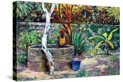 The Garden Well, 2017-Tilly Willis-Stretched Canvas Print