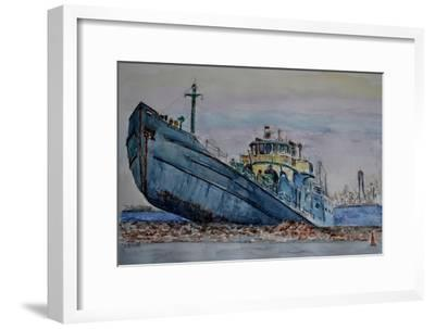 Hurricane Sandy, 2012-Anthony Butera-Framed Giclee Print