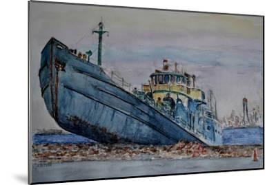 Hurricane Sandy, 2012-Anthony Butera-Mounted Giclee Print