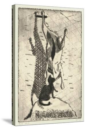 Semana Santa-Thomas MacGregor-Stretched Canvas Print