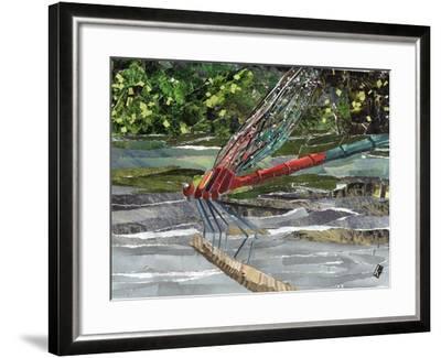 Red Dragonfly-Kirstie Adamson-Framed Giclee Print