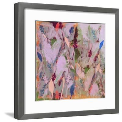 Botanical Collage # 1, 2017-David McConochie-Framed Giclee Print