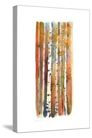 Birches in Autumn, 2013-John Keeling-Stretched Canvas Print