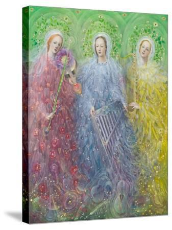 Mass for Three Voices, 2016-Annael Anelia Pavlova-Stretched Canvas Print